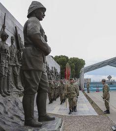 Şehitleri Anma Günü ve Çanakkale Deniz Zaferi'nin 101. Yıl dönümünde Gelibolu