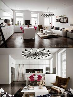 chic studio apartment ideas