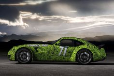 The first of the jaw-dropping quartet of Team Galag cars, the Weisman MF5, a modern German car bu...