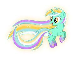 Rainbow Power Lyra by Zekrom-9.deviantart.com on @DeviantArt