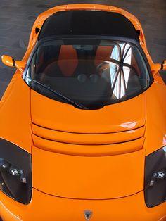 Tesla Roadster - Top View