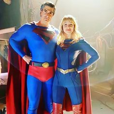 Dc Comics Heroes, Comic Book Superheroes, Dc Comics Art, Superhero Movies, Marvel Heroes, Marvel Dc, Brandon Routh Superman, Supergirl Comic, Couples Cosplay
