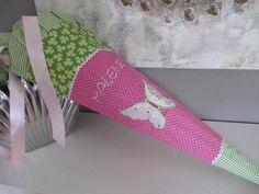 Schultüte Zuckertüte Einschulung Schmetterling von LOTTANELLI auf DaWanda.com