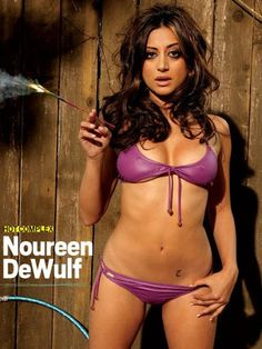 Topflight Indian wool Noureen DeWulf will turn 29 on Thursday, February 28.     The 5-foot-3, 110 pound DeWulf, born in Gotham and raised in Stone Mountain, Georgia, matriculated at Boston University's School of the Arts.