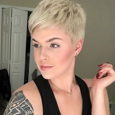 Beauty by @strength.n.dignity_31 #viphair #hair #hairstyle #pixiestyle #pixiecut #pixie #girls #loveyouhair #shorthair #nothingbutpixies #haircolor #sidecut #hairideas #haircut #girl #hairvideo #beauty