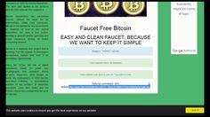 Биткоин кран Faucet Free Bitcoin каждые 90 мин 1444 сатоши!