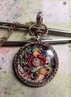Fairy Pocket Watch by Tracey Davis
