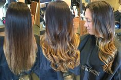 Caramel Balayage Ombre- Hair by Linda Bang