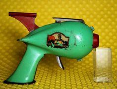 EARLY space toy. Flash Gordon Signal gun. 1935. Based on Flash Gordon comic strip.