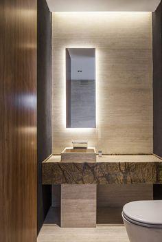Super bathroom lighting tips interior design 18 Ideas Stone Bathroom, Small Bathroom, Travertine Bathroom, Master Bathroom, Diy Bathroom Remodel, Bathroom Renovations, Bathroom Interior Design, Modern Interior Design, Ideas Baños