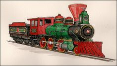 Index of Carl Johnson's Prints Carl Johnson, Chattanooga Choo Choo, My Heart Is Breaking, Buses, Marines, Tennessee, Brave, Southern, Country