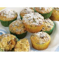 Carrot and apple muffins, carrot recipe, brought to you by recipes+ Carrot Recipes, Muffin Recipes, Rhubarb Crumble, Apple Muffins, Baking Muffins, No Sugar Foods, High Tea, Carrots, Sweet Treats