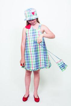 nonobel diseños propios.coleccion verano 2014 vestido corazon