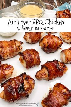 Air Frier Recipes, Air Fryer Oven Recipes, Air Fryer Dinner Recipes, Air Fryer Chicken Recipes, Fast Chicken Recipes Easy, Air Fryer Rotisserie Recipes, Frozen Chicken Recipes, Bbq Chicken Wraps, Barbecue Chicken