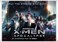 X-Men Apocalypse [2016] BRRip   XviD   683 MB   Full Movie PG-13   2h 24min   Action, Adventure, Sci-Fi   27 May 2016 (USA)
