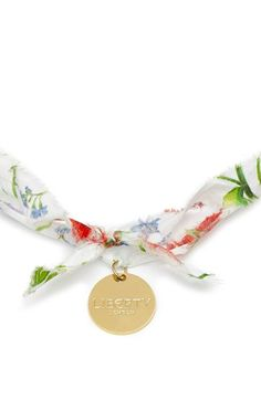 Flowers of Liberty Floral Print Charm Necklace   Nordstrom