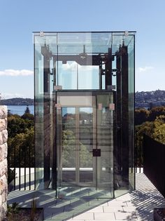 open glass elevator - Google Search