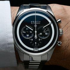 いいね!313件、コメント11件 ― Adi Soonさん(@adi.soon)のInstagramアカウント: 「The BWD x Fragment Zenith El Primero on wrist. Read more on revolution.watch」