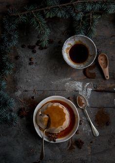 Budino al caffè speziato per Taste&More magazine
