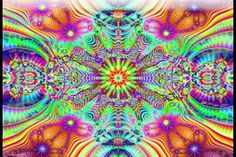 Binaural Beats for an ACID TRIP -  Creative Visualization - Digital Drugs