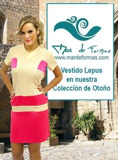 El vestido Lepus Búscalo en nuestra colección de Otoño http://www.mardeformas.com/es/237-vestido-lepus.html