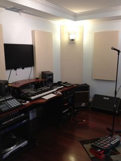 Contemporary Music Studio Design, Pictures, Remodel, Decor and Ideas