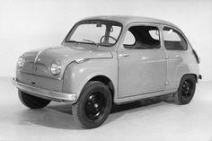 El prototipo del #Fiat600 #seat600 anterior a su producción definitiva