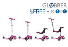 WIN 1 of 3 Globber My FREE 4-in-1. Competition ends: 29th March 2015