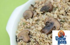 Herbed Brown Rice with Mushrooms Recipe