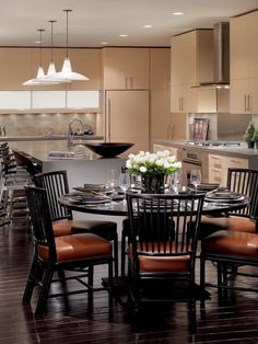 Asian Dining Room Design, Pictures, Remodel, Decor and Ideas - page 4