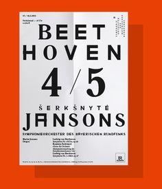 BEETHOVEN, by Bureau Mirko Borsche