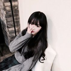 Image via We Heart It https://weheartit.com/entry/164577548/via/9818691 #asian #babygirl #cute #cutie #korean #sweet #ulzzang
