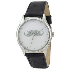 Moustache Watch by SandMwatch on Etsy, $39.00