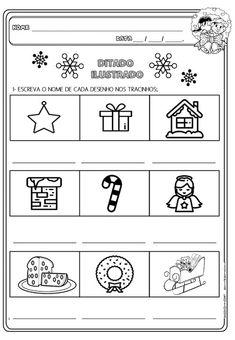 Educação infantil facil: 2020 Cards, Professor, Internet, Activities For Students, Christmas Activities, Reading Activities, Montessori Math, Christmas Worksheets, Infant Learning Activities