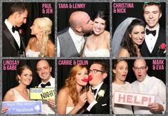 Weddings are still the #1 Photo Booth Rental market