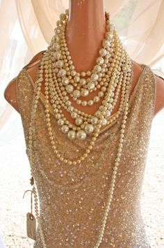 Sparkles and pearls