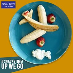 Take it easy today!  Give your kid a fun art made out of fruit! #SnacksTime http://www.mountlitera.com/partner-with-us/