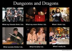 Dungeons and Dragons Meme