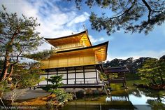 Kinkakuji (Golden Pavilion Temple), Kyoto / Christopher Chan, via Flickr