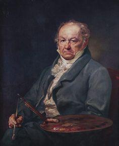 Retrato de Francisco de Goya, por Vincente Lopez, 1826