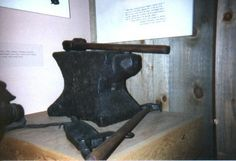 "Samuel Blakeslee~ 8th Great Grandfather 'Samuel Blakeslee and his brother, John, blacksmiths by trade, came to Boston from England on the ship Hopewell about 1636. ""They brought with them their anvil, vise and other implements.' Anvil now located at The Smithsonian, donated by Samuel's great grandson Sala Blakeslee."