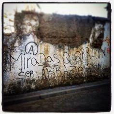 MIRADAS QUE QUERRÍAN SER ABRAZOS...