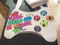 Xbox promposal! #promposals #prom