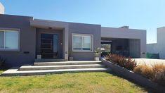 FACHADA MODERNA EN TONOS DE GRIS: Casas unifamiliares de estilo  por INTEGRA ESTUDIO Maputo, Modern Architecture, My Dream, My House, Facade, House Plans, Garage Doors, Sweet Home, House Design