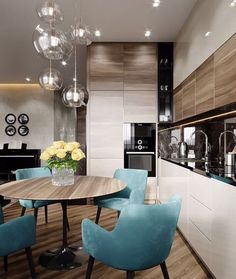 50 inspiring kitchen cabinet colors and ideas that will blow you away 3 ~ Best Dream Home Kitchen Room Design, Kitchen Cabinet Colors, Modern Kitchen Design, Dining Room Design, Home Decor Kitchen, Interior Design Living Room, Home Kitchens, Kitchen Dining, Apartment Interior