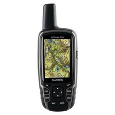 The Garmin GPSMAP GPS brings you the same compass, altimeter and wireless connectivity as the GPSMAP plus a preloaded topo map of the continental U. Vw Camping, Camping And Hiking, Camping Survival, Survival Gear, Camping Packing, Backpacking Gear, Hiking Gear, Hiking Trips, Radios