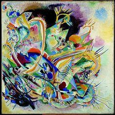 "Wassily Kandinsky ""Untitled Improvisation V""    1914"