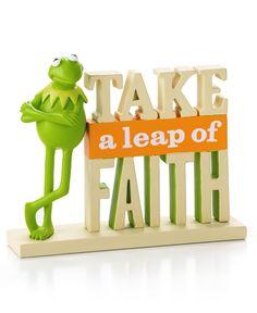 Take Kermit the Frog's advice.