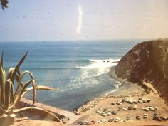 Old Dana Point. I surfed this place on a 15 ft day and crossed in front of the old jetty! Two surfers died that day, one at Doheny and one at the Wedge.