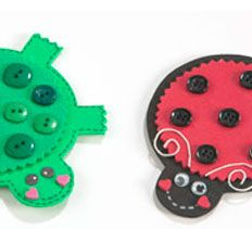 Foam Fridge Magnets- even paper versions would be perfect when learning about circles~